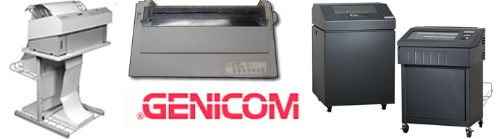 Genicom printer repair Ft Worth, TX